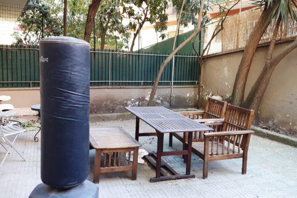 Locazione bilocale con giardino Nomentano Via Pais E 750