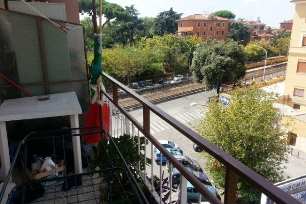 Locazione trilocale Pigneto Via Casilina E 900